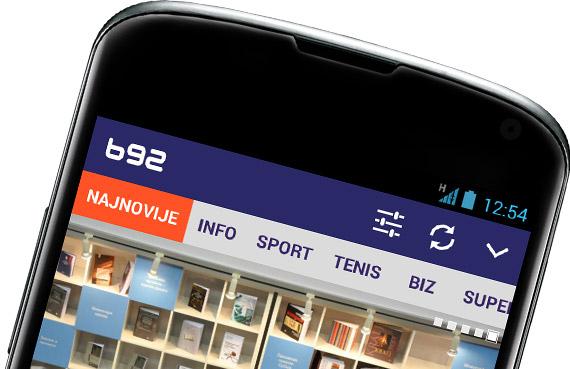 B92 Android aplikacija
