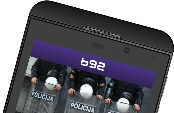 B92 Blackberry 10 aplikacija